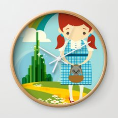 Dorothy Wizard of Oz Wall Clock