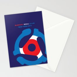 Subway Soul Adapter Stationery Cards