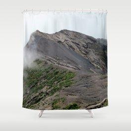 Volcan Irazu Shower Curtain