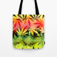 marijuana Tote Bags featuring Marijuana by SpecialTees