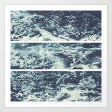 Saltwater Tryptych Art Print