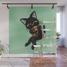 Baby dog Wall Mural