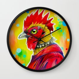 Urban Rooster Wall Clock