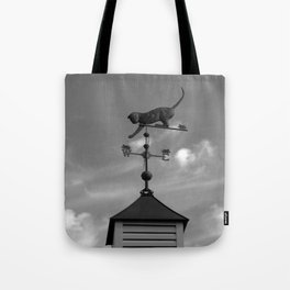 Weather Cat Tote Bag