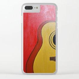 My Guitar Clear iPhone Case