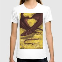 smaug T-shirts featuring Smaug by toibi