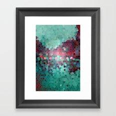 mosaic series Framed Art Print