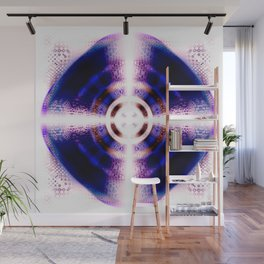 Digital Ripple Abstract Wall Mural
