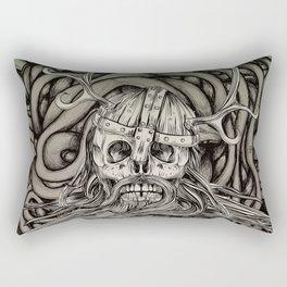 Old Viking Rectangular Pillow