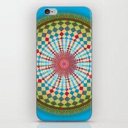 Health Mandala - מנדלה בריאות iPhone Skin