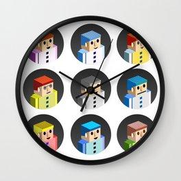 Art people Wall Clock