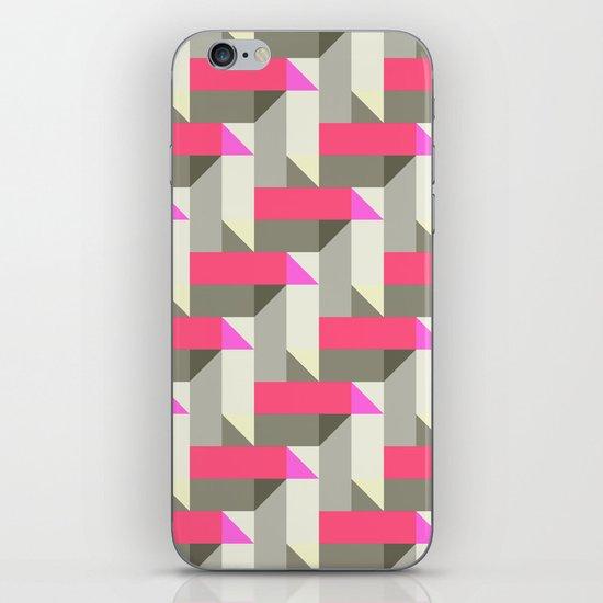 Herringbone geometric iPhone & iPod Skin