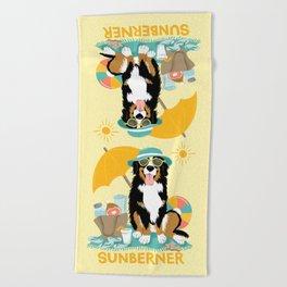 Sittin' Sunberner Beach Towel