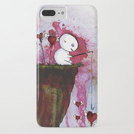 Fishing for hearts iPhone Case
