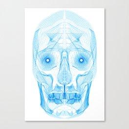 Digital Skull Canvas Print