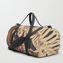Takiyasha the Witch and the Skeleton Spectre, by Utagawa Kuniyoshi Duffle Bag