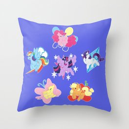 Elements of Harmony Throw Pillow