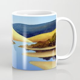 Water Meets Sand: Te Paki Stream Coffee Mug