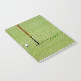 Golf Pin Notebook