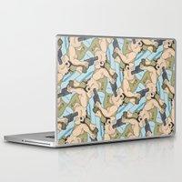darwin Laptop & iPad Skins featuring Darwin Award Nominee tessellation by Feene