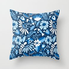 Annabelle - Blues Throw Pillow