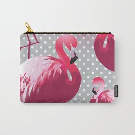 Watercolor Flamingo Pattern 6 Carry-All Pouch
