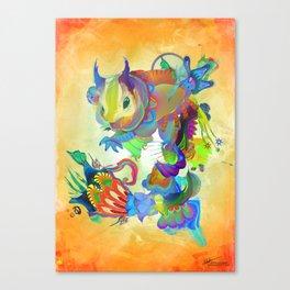 Locus Dahlia Canvas Print