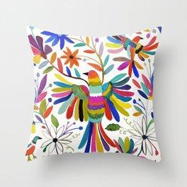 otomi bird Throw Pillow