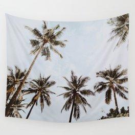 Palm Trees Xiv Chiang Mai Thailand Wall Tapestry