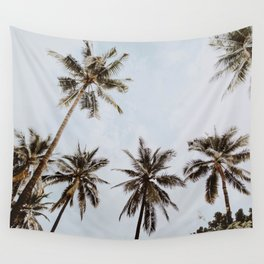 palm trees xiv / chiang mai, thailand Wall Tapestry