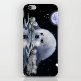 Destiny - Harp Seal Pup & Ice Floe iPhone Skin