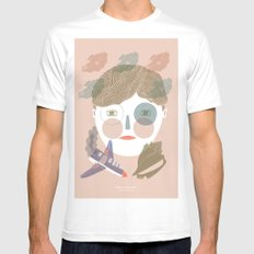 Lord of the Flies White MEDIUM Mens Fitted Tee