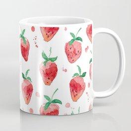 Strawberries Pow Coffee Mug