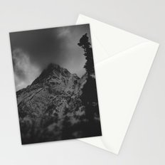 December Mountain Stationery Cards
