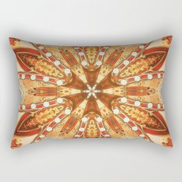 lights of vegas Rectangular Pillow