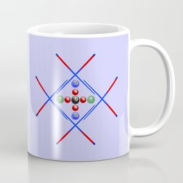 Pool Game Design v3 Coffee Mug