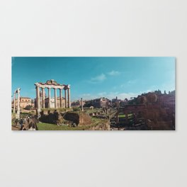 In The Forum. Canvas Print