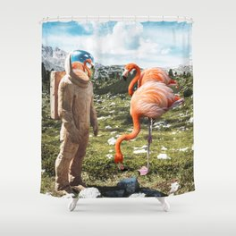 Alternate Reality Shower Curtain