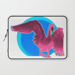 The swan and the sunset Laptop Sleeve