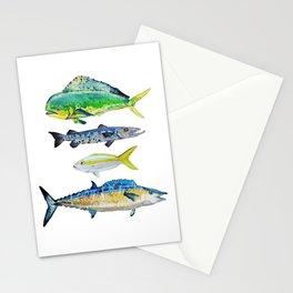 Caribbean Fish Stationery Cards