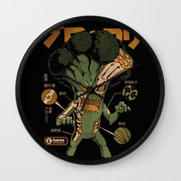 Broccozilla X-ray Wall Clock