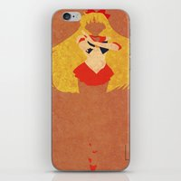 sailor venus iPhone & iPod Skins featuring Sailor Venus by JHTY