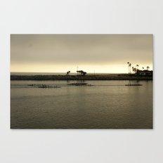 Row, Row, Row Canvas Print