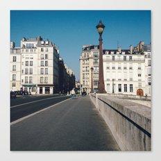Perfect Day in Paris - Ile Saint Louis Canvas Print