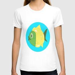 Rain Coat Fish T-shirt