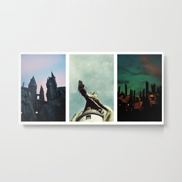 The Wizarding World of Harry Potter Metal Print