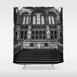 History Museum London Shower Curtain