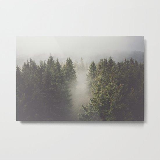 My misty way Metal Print