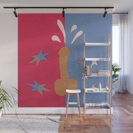 Felt Penis: Squirt Wall Mural