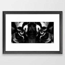 Dont blink Framed Art Print